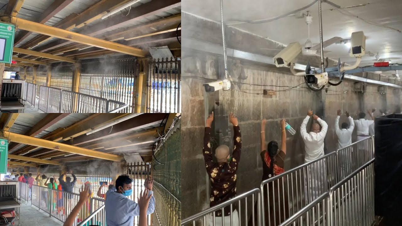 Tirumala Venkateswara Swamy Temple New Disinfection System Will Blow Your Mind
