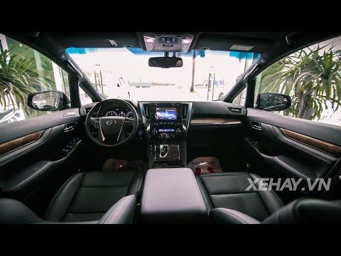 XEHAY.VN Chi tit chuy n c mt t Toyota Alphard 2016 ti VN