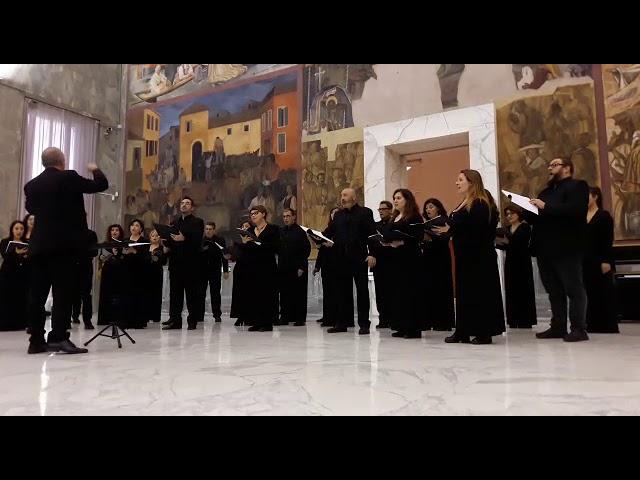 Salve Regina by Manolo Da Rold - Coro Città di Roma diretto da Mauro Marchetti