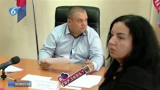 Прием граждан первым заместителем главы администрации г. Горловки Павлом Калиниченко