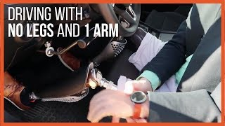 How I drive with my prosthetics - By triple amputee Christoffer Lindhe  Vlog 34