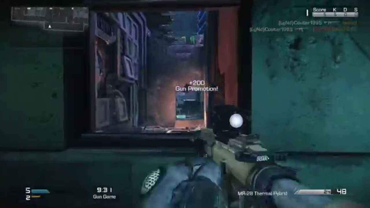ICoulter Plays Gun Game On COD Ghosts YouTube