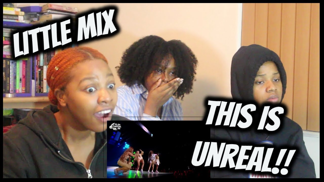 f9fa4fda0d02f8 Little Mix - Secret Love Song (Jingle Bell Ball 2018) || REACTION ...