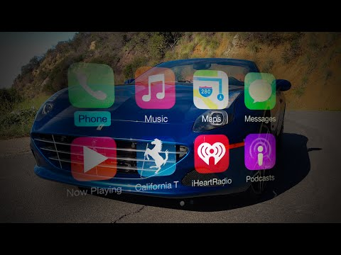 Living with Apple CarPlay & the 2015 Ferrari California T TECHNICAL REVIEW