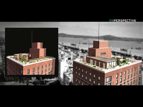El proyecto Victoria Plaza Office Tower recupera un edificio emblemático de Montevideo