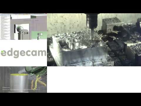 Vero Software GmbH - Edgecam live Bearbeitungs- Kollage