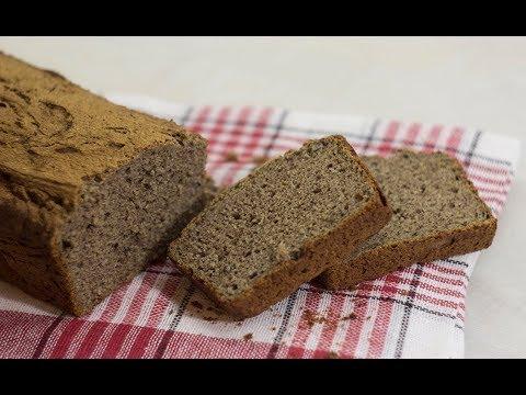 Hleb od heljde  - bez mešenja  100% heljdino brašno