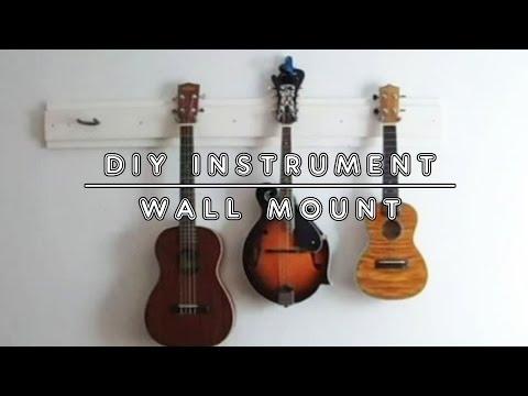 DIY Instrument Wall Mount