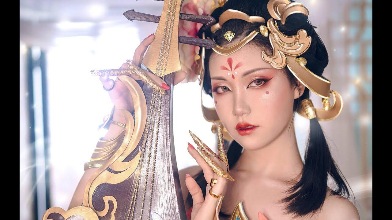 【Tình Tình】❀ Hướng Dẫn Makeup 《Dương Ngọc Hoàng》 | 【晴晴】杨玉环·霓裳曲·仿妆·