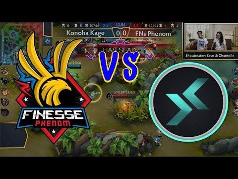 Konoha IX Kage vs FNs Phenom (BO3) Just ML League 4 Day 1