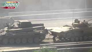 War in Syria /#7/ Война в Сирии / Tanks shoot
