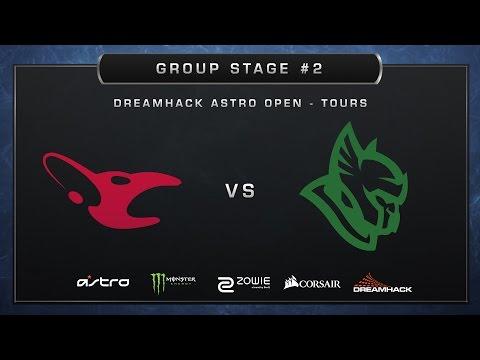 CS:GO - Mousesports vs Heroic - Cobblestone - Group A - DreamHack ASTRO Open Tours 2017