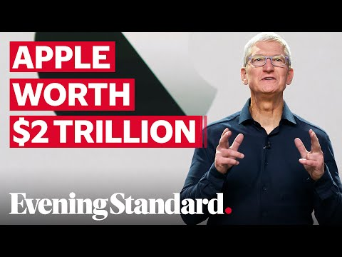 Apple Becomes First US Company To Be Valued At Two Trillion Dollars