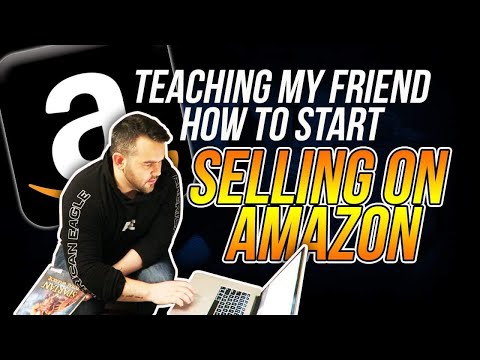 Teaching My Friend How to List, Price, Ship Books on Amazon FBA Step by Step in 2019