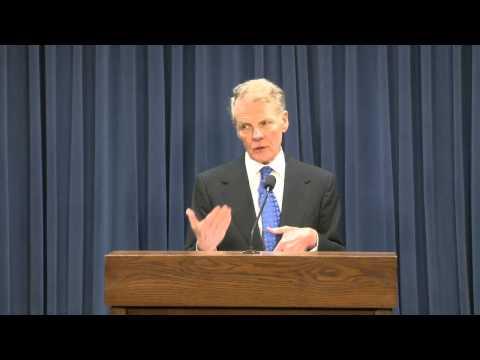 Speaker Michael Madigan reacts to union bill override failure, 9-2-2015