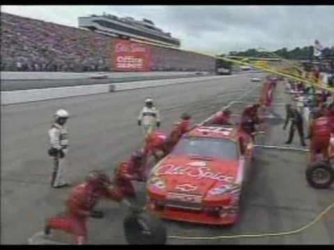 Joey Logano Wins Loudon NASCAR 2009