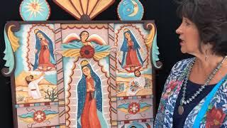 Santa Fe Spanish Market - Artist Interview - Teresa Duran | Santera