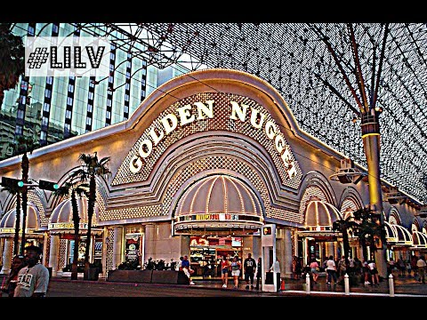Exploring the Golden Nugget Hotel and Casino, Las Vegas 2018