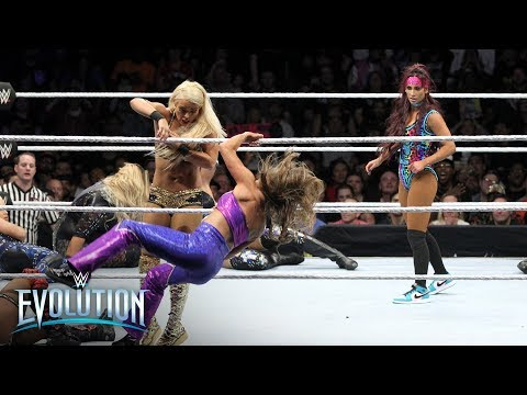 Superstars past and present fight tooth-and-nail in frenetic Battle Royal: WWE Evolution 2018