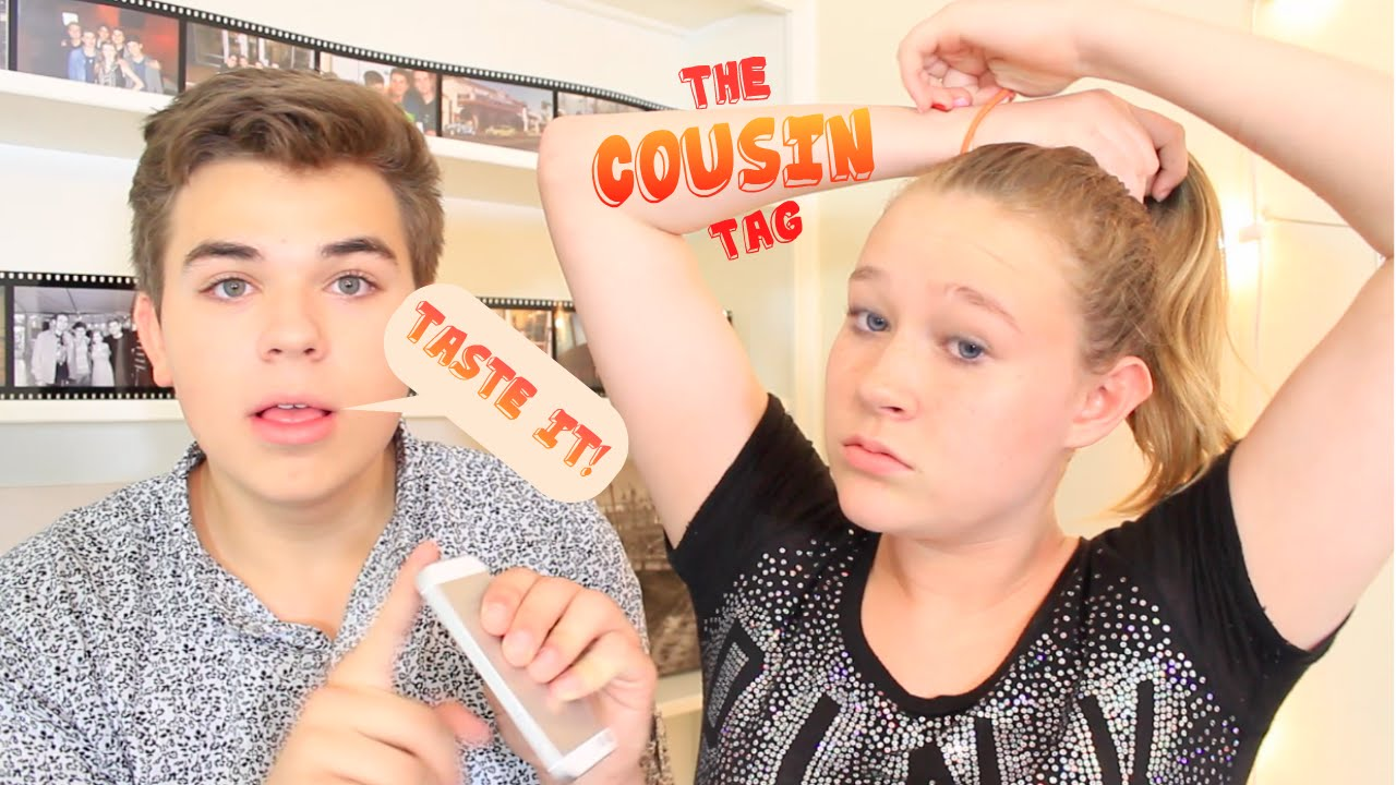 how to kiss my cousin