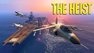 [GTA 5] The Hydra Heist! w/ Bazza & Tyrodin