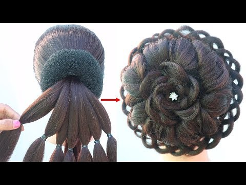 latest-juda-hairstyle-for-bridal-||-beautiful-beautiful-hairstyle-||-wedding-hairstyle-||-hairstyle