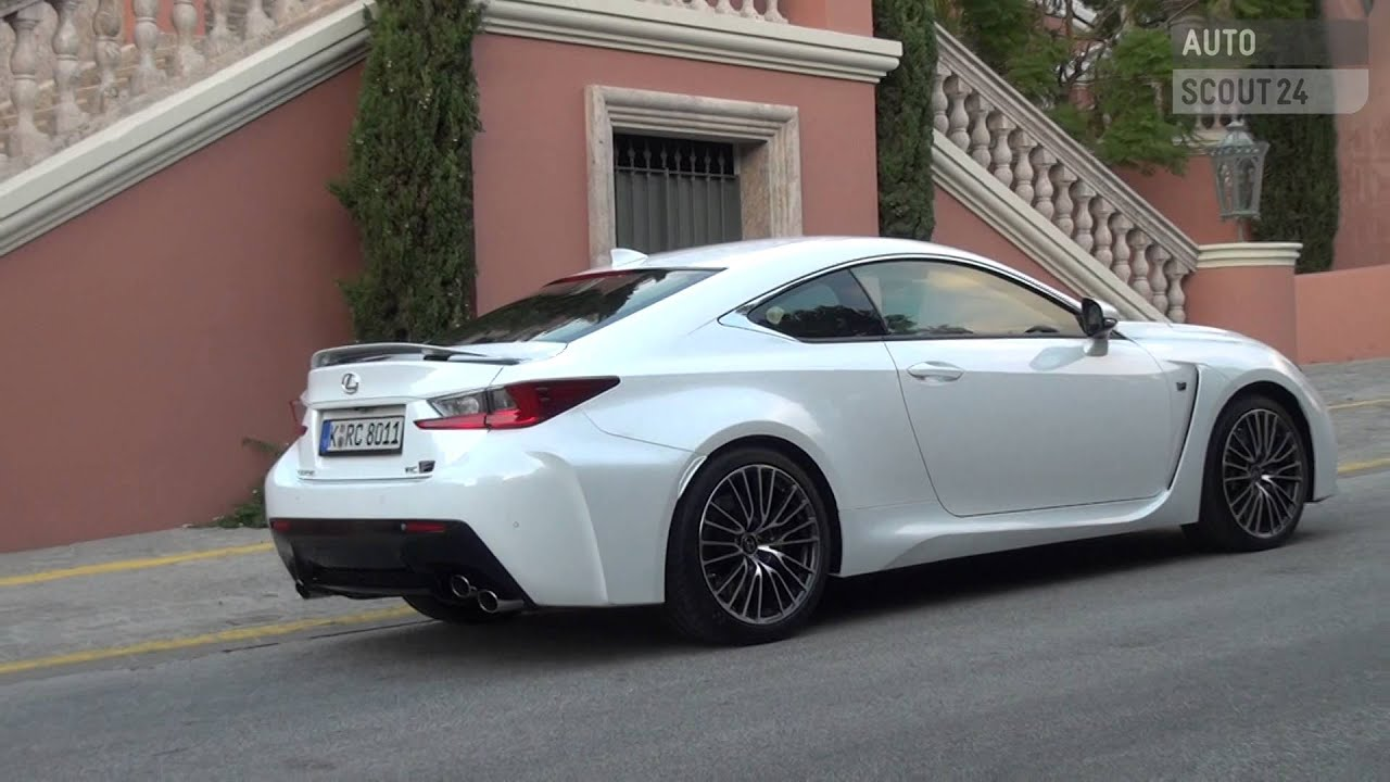 lexus rc f 2015 autoscout24 youtube. Black Bedroom Furniture Sets. Home Design Ideas