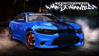 Need for Speed MOST WANTED | Dodge Charger SRT Hellcat Mod Gameplay [1440p60]
