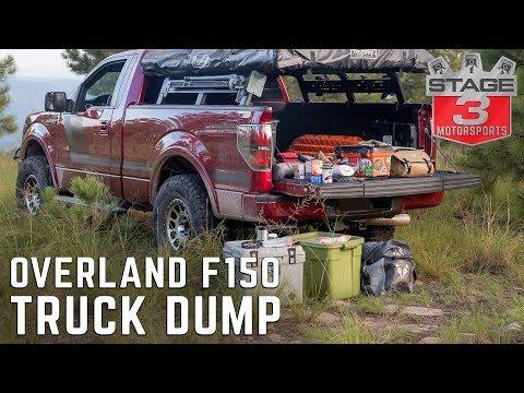 Noah's Overland F150 Ecoboost Truck Dump