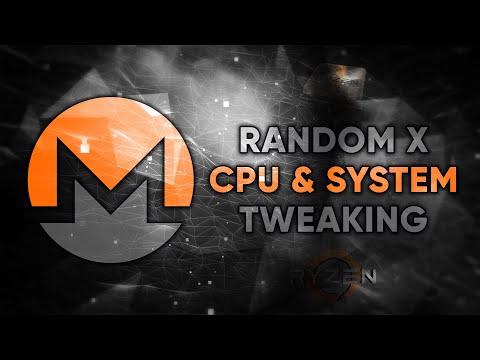 Random X: Better Hashrate & Stability (+ Latest Miner App) CPU Mining Monero