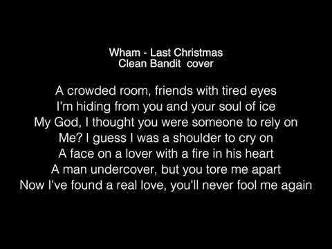 Clean Bandit- Last Christmas Lyrics (WHAM! cover, Radio 2 Breakfast Show session)