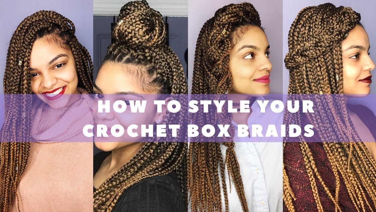 Box Braids Hairstyles Youtube: Crochet Box Braids Styles