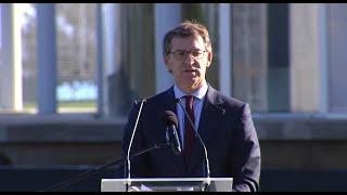 Feijóo celebra la inauguración de la nueva ciudad deportiva del Celta de Vigo