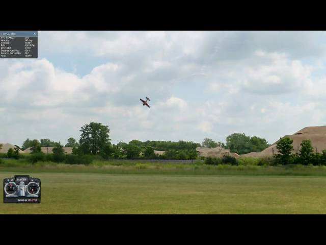 How To Lomcevak an R/C Airplane. Great Planes Yak-54 on RealFlight G5