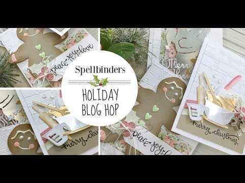 Spellbinders Shapeabilities Die Set From Our Home to YoursA Sweet Christmas