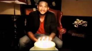 usher sings happy birthday