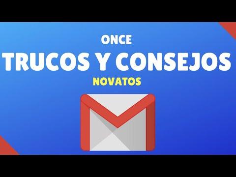 11 Trucos y Consejos para Gmail | Novatos | 2016 | Paso a paso