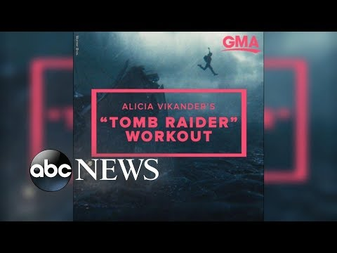 Download Youtube: 'Tomb Raider' actress reveals how she transformed her body to play Lara Croft