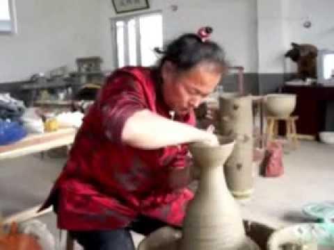Kim, Yong Moon throwing bowls off the hump