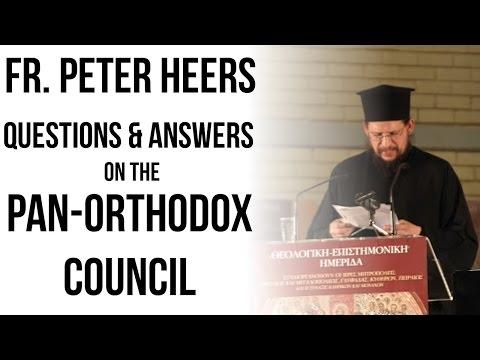 The Myth of Pan Orthodox consensus: Part B