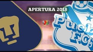 Predicción: Pumas Vs Puebla Jornada 11 Apertura 2018