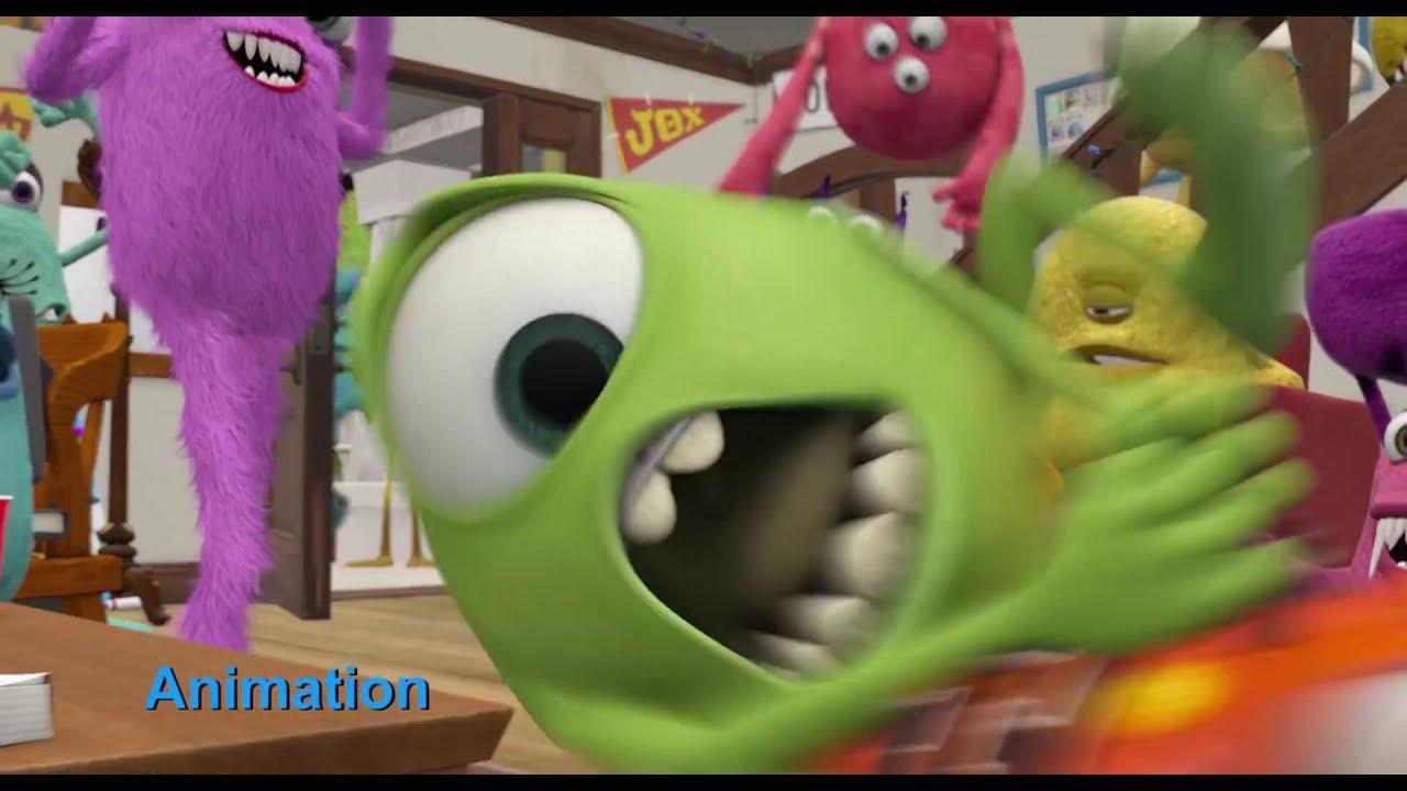 Monsters University I Progression Reel I Disney/Pixar I 3D Animation Internships