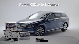 Călătorii sigure și confortabile cu Accesoriile Originale Volkswagen pentru Confort & Protecție