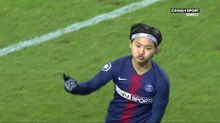 D1 Féminine - 16ème journée - PSG/MHSC : Wang Shuang ouvre le score après 17 secondes !