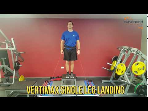 VERTIMAX SINGLE LEG LANDING