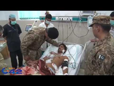 Core Commander Lahore visit General and CMH hospitals