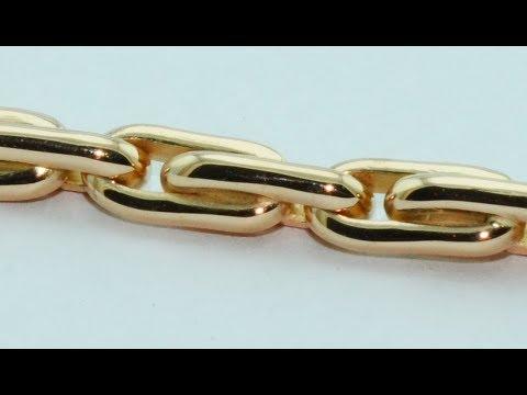 18kt Rose Gold Bracelet Handmade