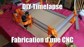 DIY CNC - Fabriquer une CNC avec une IMPRIMANTE 3D