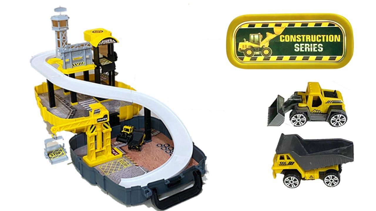Construction Set Building Toy Garage | Car garage building
