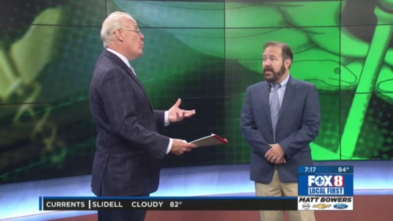 Men's Health - Dr  Brent Wallis on WVUE FOX 8 News